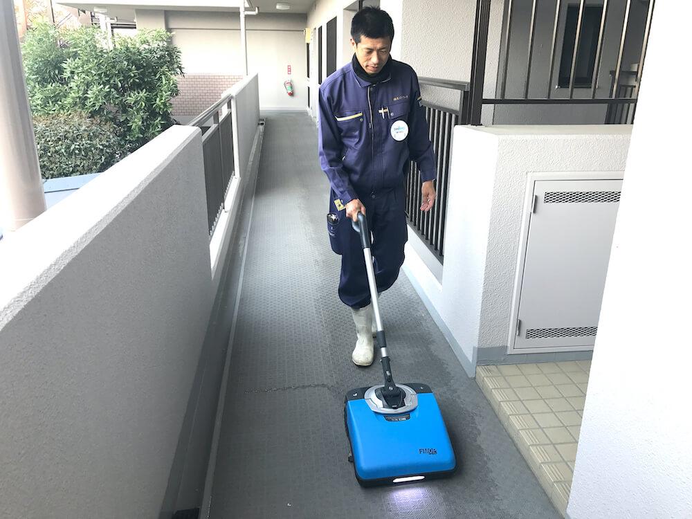 巡回清掃管理
