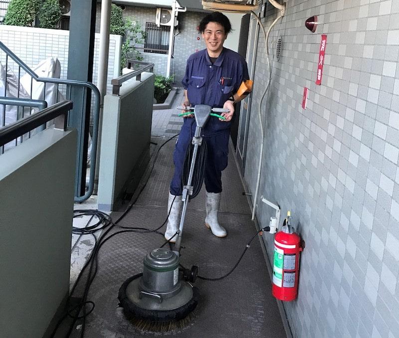 定期清掃スタッフ
